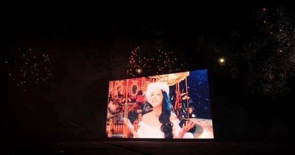 安室奈美恵さん花火ショーに4万人興奮「ナミエ!」コールが自然発生