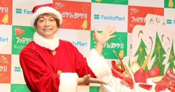 香取慎吾、今年のクリスマスは「子供と奥さんと…」 笑いとれず苦笑い