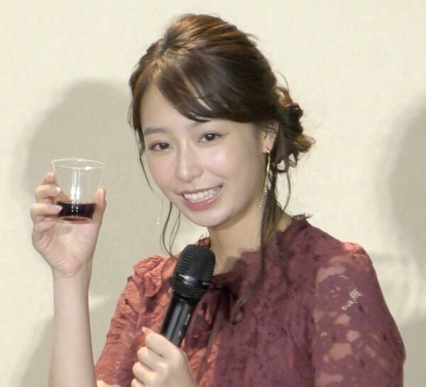宇垣美里、女子会はお酒必須 別所哲也の誘いに「大人の一歩を」