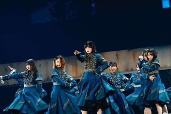 欅坂46、初の東京ドーム公演でファンに感謝「また全員で帰ってきたい」