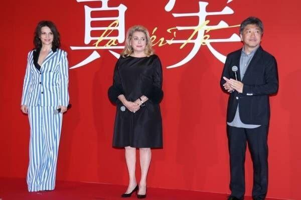 是枝裕和監督、仏大女優から大絶賛「映画監督の真髄たる方」