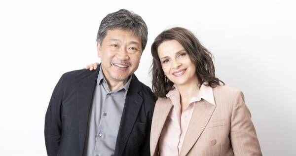 是枝監督、日仏の壁を越え「ほぼ思い通り」の海外初演出! J・ビノシュと秘話語る