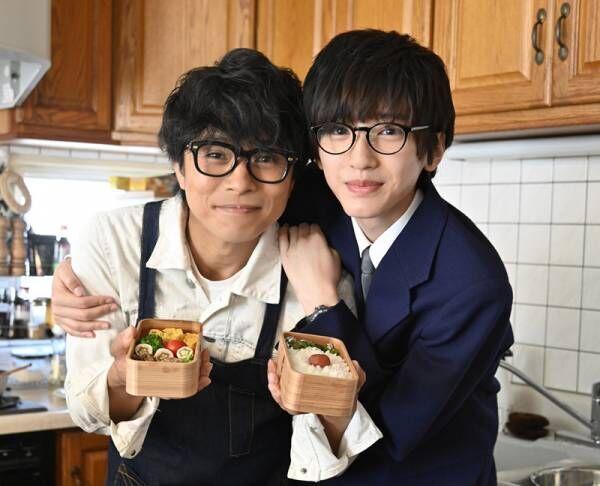 父・井ノ原快彦が、息子・道枝駿佑に弁当作り! 映画『461個のおべんとう』