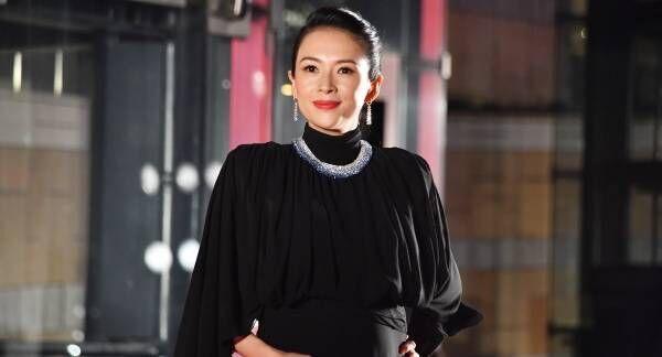 チャン・ツィイー、第2子妊娠「30週」と発表! ふっくらお腹でTIFF登場
