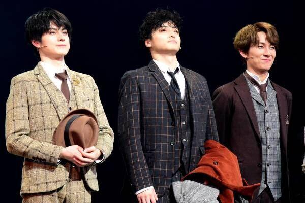 栗山航、ホームズ役挑戦で 「至極のミステリーが始まる」 舞台『PSY・S』開幕