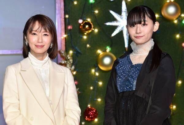 鈴木亜美、ふっくらお腹で点灯式に登場 第2子妊娠7カ月を報告