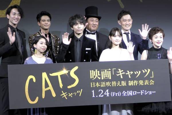 【動画】葵わかな、主人公ヴィクトリア役を「精一杯演じていきたい」 高橋あず美は名曲「メモリー」を熱唱 — 映画『キャッツ』