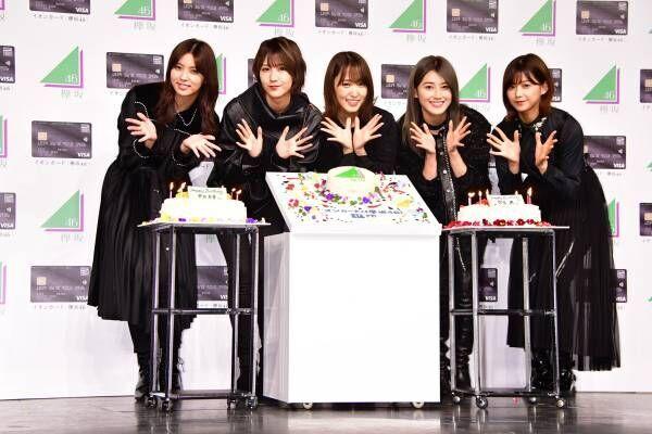 欅坂46の菅井友香、バースデーケーキに大喜び「自分を確立できる女性に!」