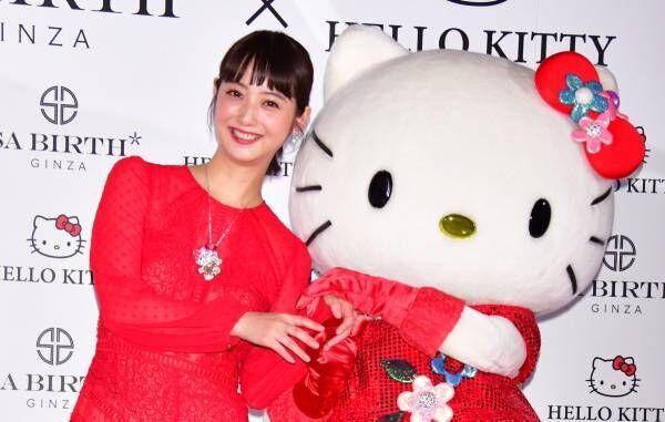 佐々木希、約2000万円のジュエリーを身につけて緊張「幸せな重みを感じます」