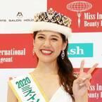 2020ミス・インターナショナル日本代表の寺内千穂さん、CA時代の所作を生かす