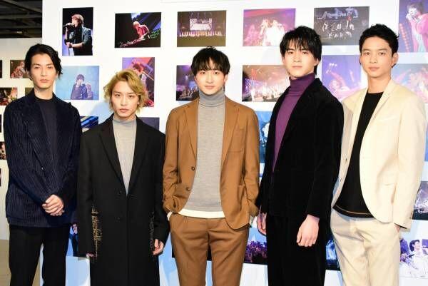 小関裕太、15周年のハンサムライブで楽しみなのはトイレ? 若手5人が意気込み