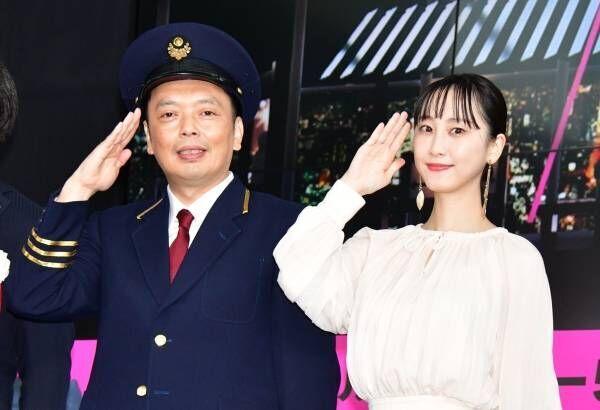 松井玲奈、新幹線0系アンテナの展示に興奮「テンションが上がりました」