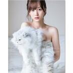 乃木坂46山下美月、透き通る色白素肌がまぶしい写真集の表紙公開