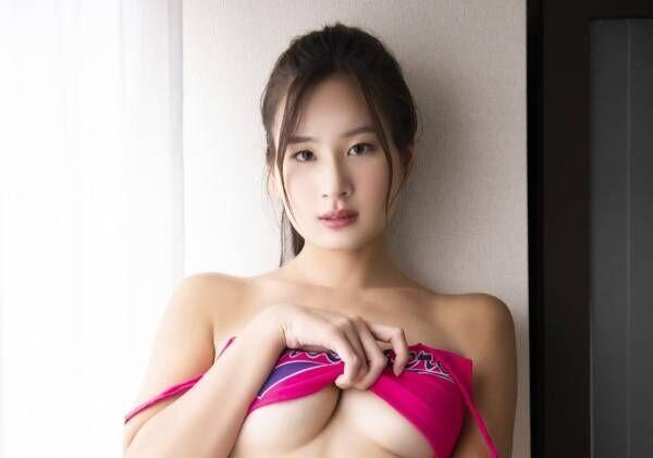 Gカップ清瀬汐希、旅館の若女将となってセクシーが加速