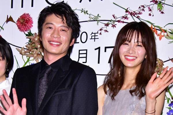 岡崎紗絵、田中圭に感謝「初日からフランクにしていただいて」