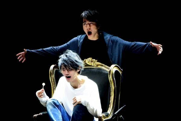 村井良大・甲斐翔真・高橋颯、新生『デスノート THE MUSICAL』「早く届けたい」