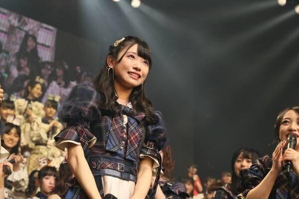 AKB48山内瑞葵、新曲センター抜てきに涙「震えが止まらない」