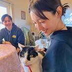 菜々緒、小出恵介との再会2ショット公開「会いに来てくれて嬉しくて号泣」