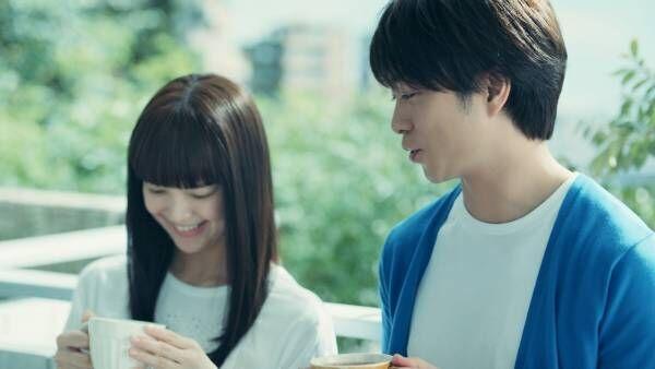 櫻井翔のココアアートに、多部未華子の反応は…? エッセンシャル flat新CM