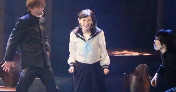 生駒里奈、主演舞台で久々の制服姿を披露! ダンスシーンも