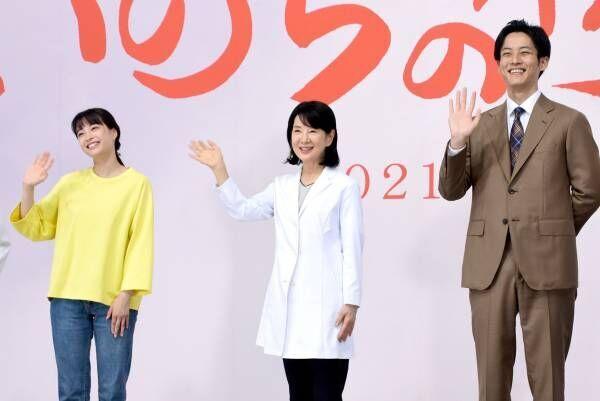 松坂桃李&広瀬すず、吉永小百合との共演に緊張! 取材陣もPCR検査で会見実施