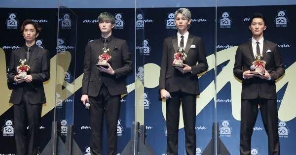 "SixTONES&Snow Man、""時代の顔""に! ananAWARD大賞「光栄」「駆け抜けたい」"