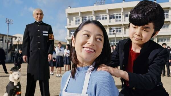 寺田心、リーゼントのヤンキー学生に! 母役・小池栄子「かわいい」