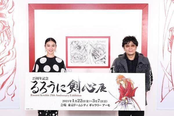 武井咲、『るろ剣』原画が「(佐藤)健さんに…」大友啓史監督も「タッチ入ってる」
