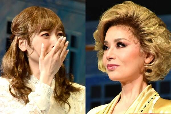 大地真央&神田沙也加、2人で涙…誕生日サプライズに「泣いちゃう」「大好きです」