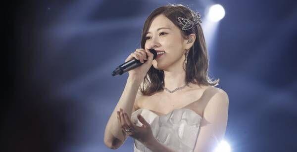 白石麻衣、乃木坂46卒業コンサートを映像化 ステージパスレプリカも特典に