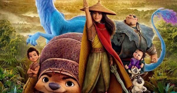 吉川愛がヒロインを演じるディズニー新作『ラーヤと龍の王国』日本版本予告公開