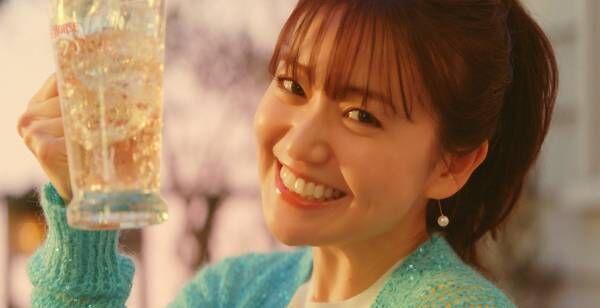 """大島優子、「はぁ…」ハイボールにうっとり """"家飲み""""事情も明かす"""