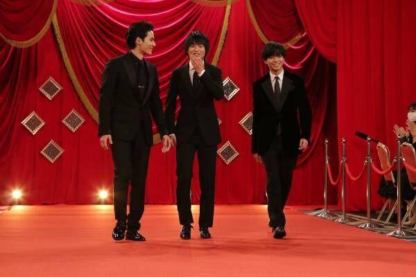 岡田健史・奥平大兼・永瀬廉、レッドカーペットに緊張も? 第44回日本アカデミー賞