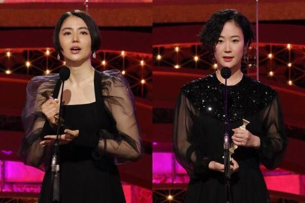 長澤まさみ・黒木華ら、豪華女優陣が日本アカデミー賞で華やかドレス! 着用ブランドは