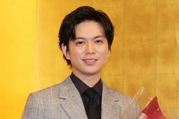 加藤シゲアキ「夢のよう」 吉川英治文学新人賞の贈呈式で喜び語る