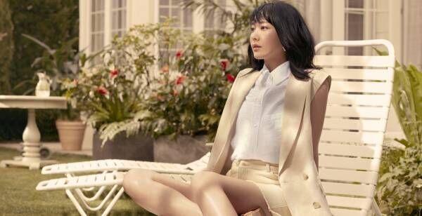 新垣結衣、ショーパンやワンピースで美脚際立つ H&Mアンバサダー就任