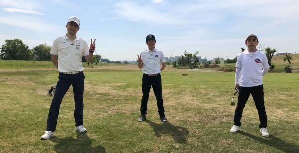 蛍原徹、YouTubeチャンネル『ホトゴルフ』開設 東野&岡村とコース回る