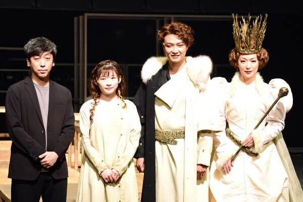久々王子役の井上芳雄に、伊藤沙莉「見た目も中身も王子」セットが稽古場のファンタジー舞台