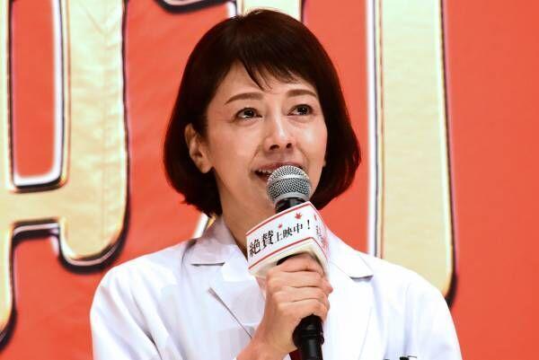 """沢口靖子、『科捜研の女』公開にウルウル…男女バディ""""どもマリ""""は「ジャンルになれば」"""
