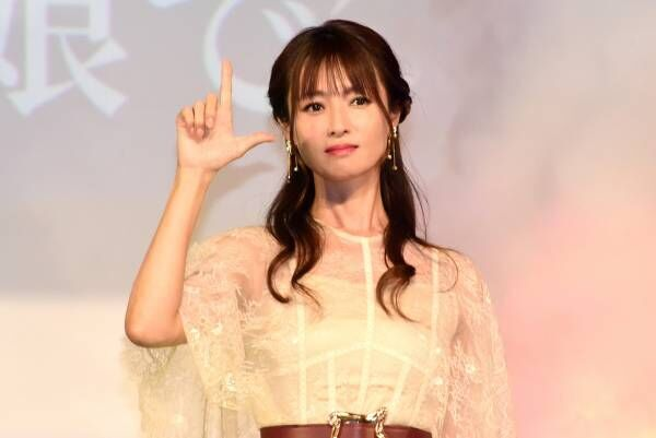 深田恭子、活動再開後初の公の場 笑顔で手を振り「すごくドキドキ」