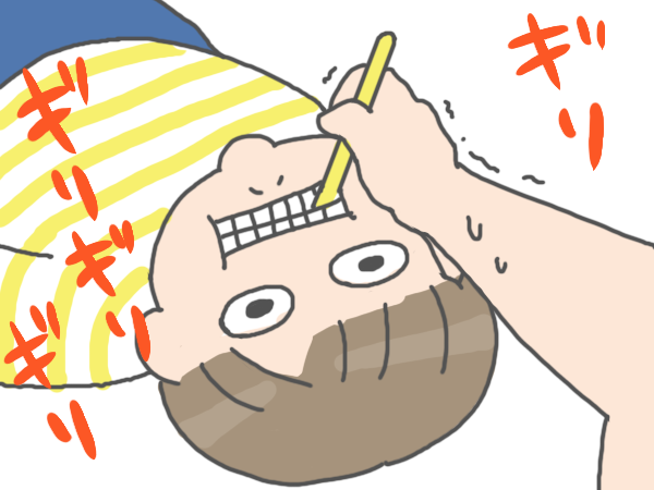 歯磨きがで口をあけてくれない子どもに「ゴジラ」の呪文が効くの画像