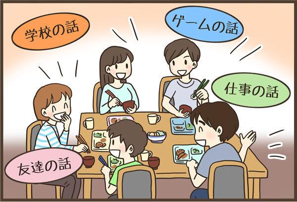食事の時、テレビつける?つけない?家族の会話が広がったテレビとの付き合い方の画像