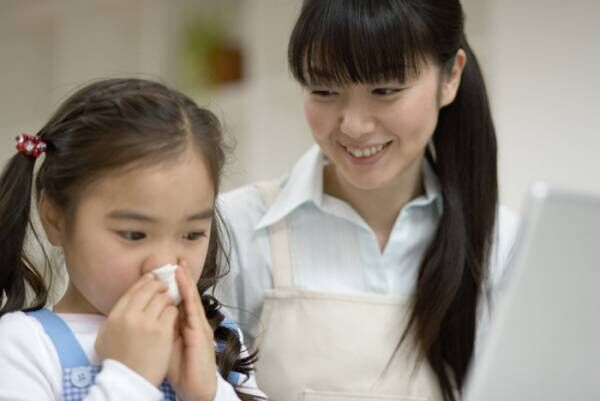 【子供の風邪予防】かかってしまった時の症状や対策方法<医師監修>の画像