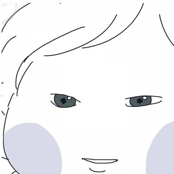 """可愛い娘の""""瞳の奥""""に映ったのは....産後ショックなアレ!(笑)の画像"""