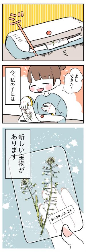 その気持ちと成長がとてもまぶしいから、キミのくれた雑草はママの一生の宝物の画像
