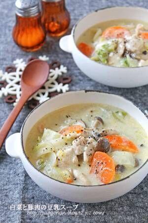 栄養満点&簡単スープレシピ3選!食べごたえ抜群で、主役級の一皿にの画像