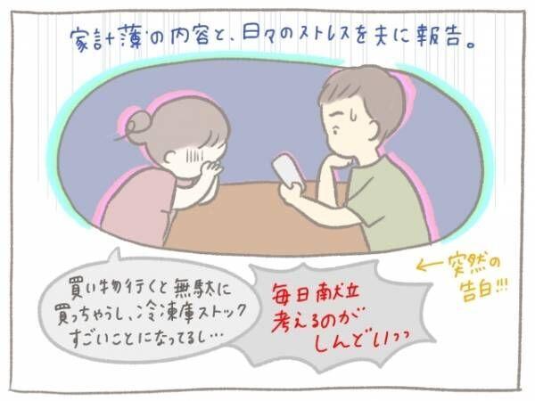 家計簿見直し!夫婦ではじめた毎日ご飯の新ルールがうれしい♡の画像