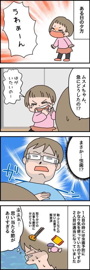幼児の「歯が痛い!」はこんな原因でも起きる!ビックリ歯医者デビューの画像