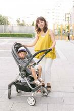 【mama snap!】赤ちゃん〜キッズまで、長く使えるベビーカー・ストッケでお出かけ♡