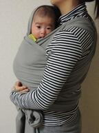 《小さな赤ちゃんでも安心♡》体に巻くだけ♪ 新感覚抱っこ紐「ボバラップ」、気になる使い心地をレポート